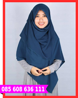 Hijab segi empat grosir