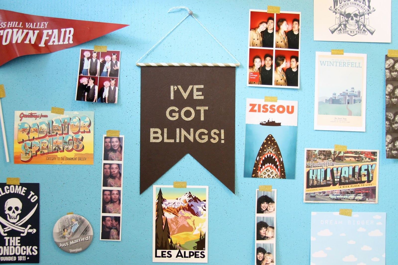 Chappie DIY Quote Pennant Tutorial