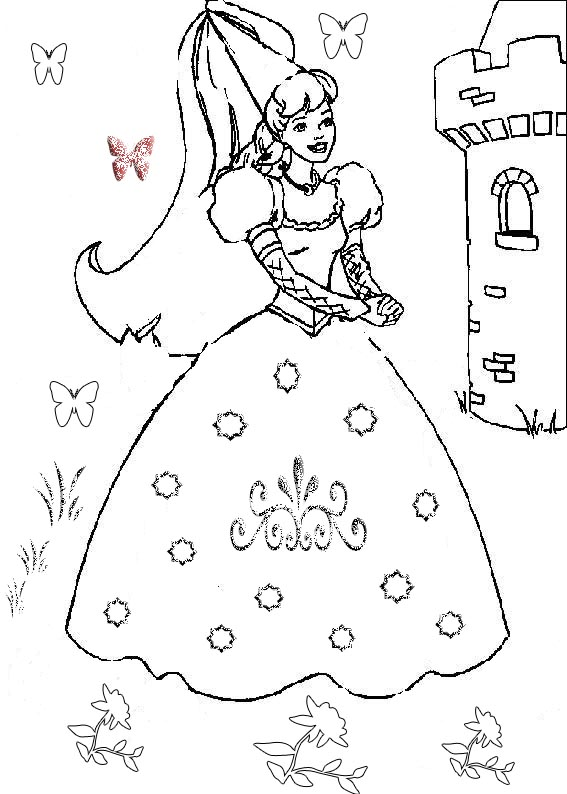 You Can Print And Color Pictures For Girls Pictures to Pin on