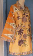 baju batik seragam kerja