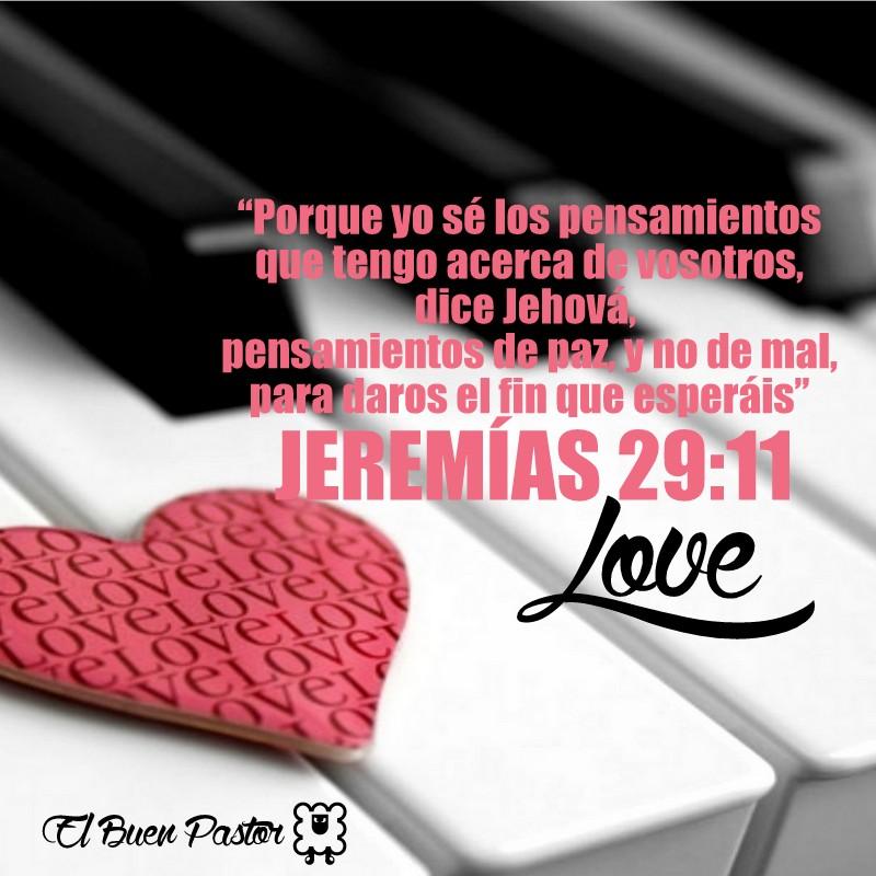 Amado YO SOY EL BUEN PASTOR: Jeremías 29:11 YP55