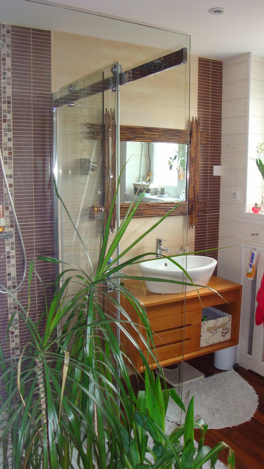 Carrelage Design carrelage sol exterieur : Michel Le Coz Agencement u0026 Du00e9coration: Salle du0026#39;eau teck