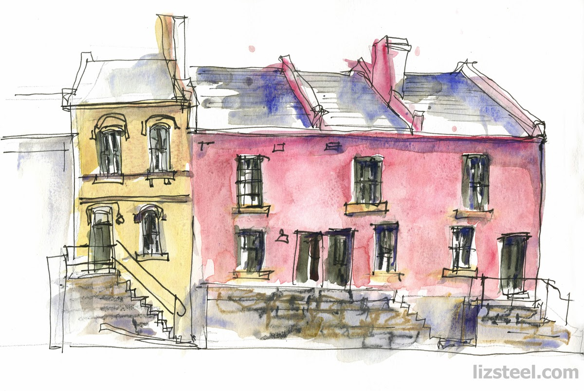 If you are not so keen on sketching buildings all day but still want a day sketching in the rocks on saturday 01 march i am running another workshop