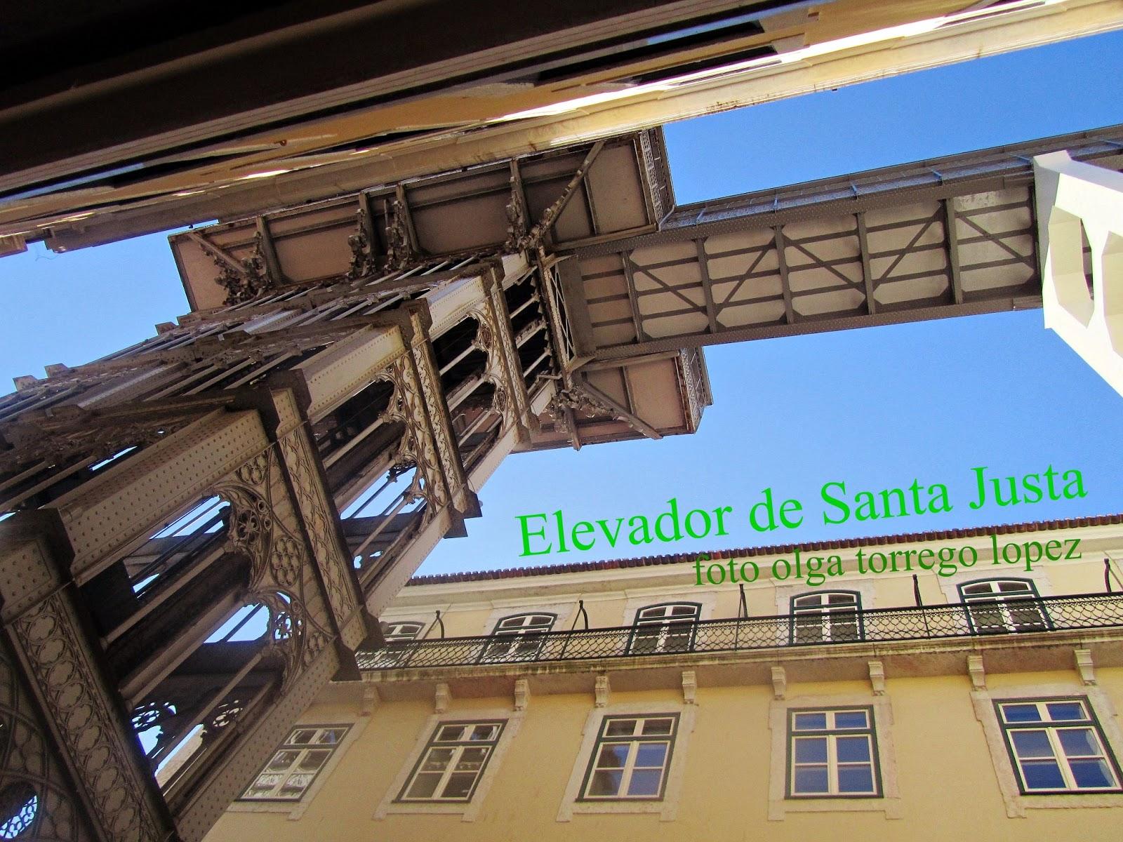 Lisboa Elevador Santa Justa Viajes Para Recordar