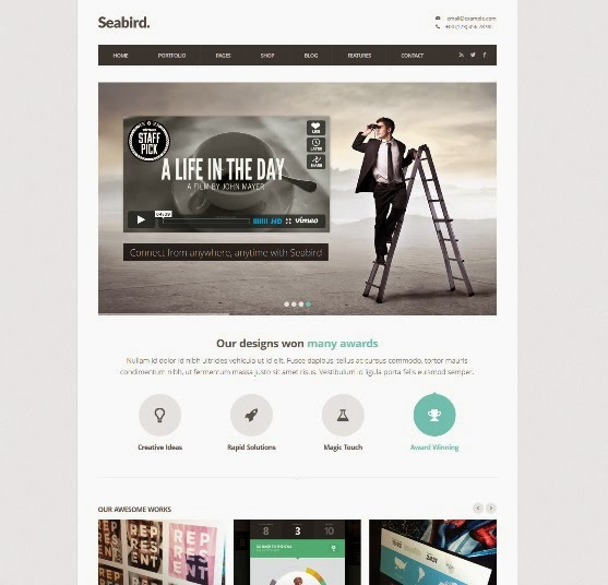 Seabird Multipurpose Responsive WordPress Theme