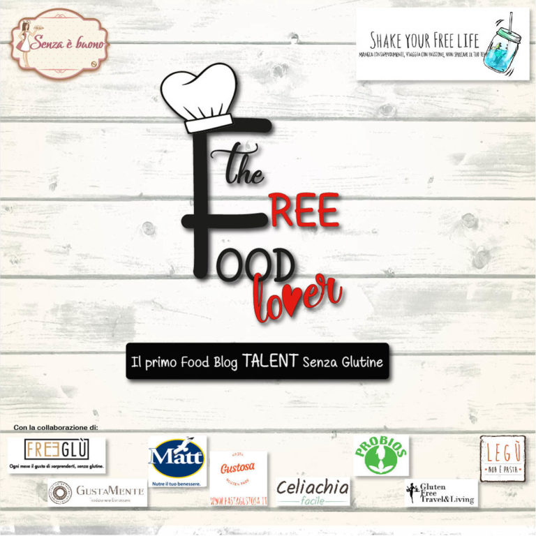 "Partecipo al Food Talent ""The Free Food Lover"""