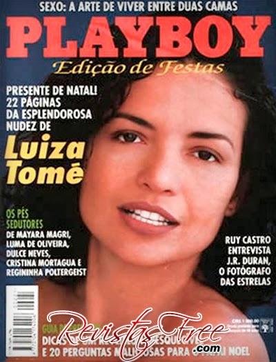 Revista Playboy - Luiza Tomé - Dezembro 1993