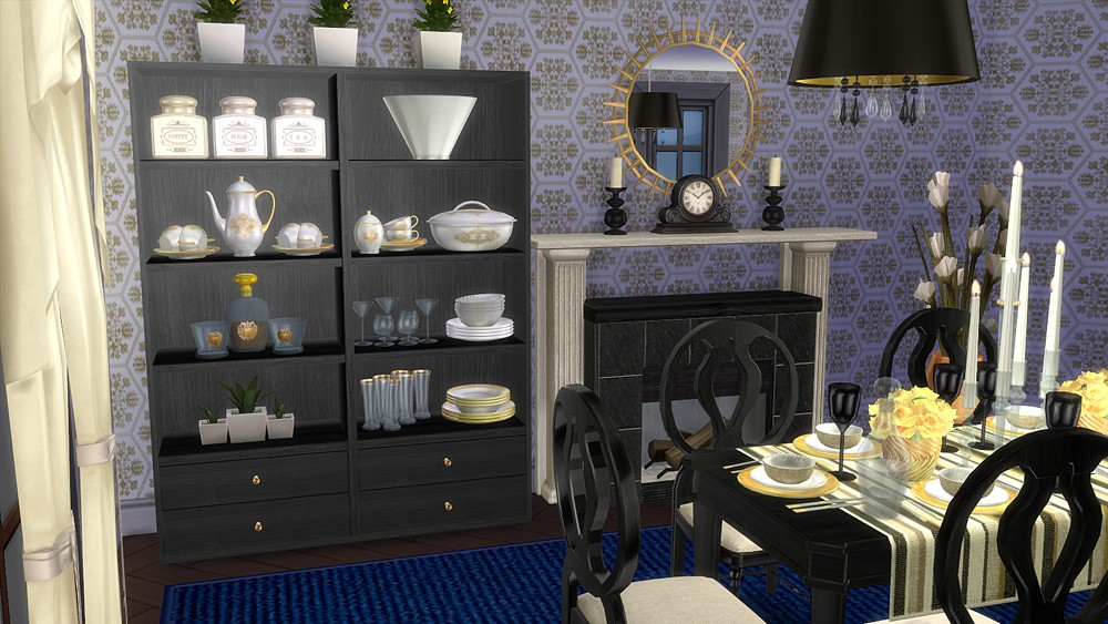 The Sims 4 Dining Room Sets Festive Reception