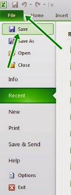 File Excel 2010 ke Excel Versi 97/2003