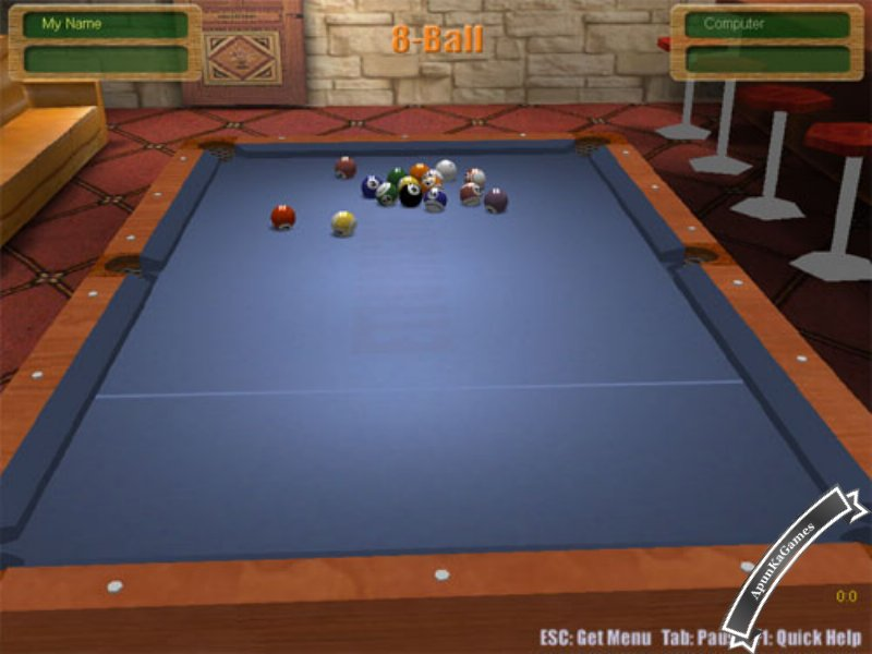 3D Live Pool Screenshots