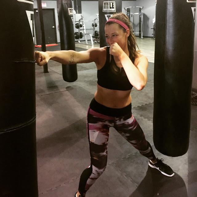 title boxing club lululemon workout fitspo
