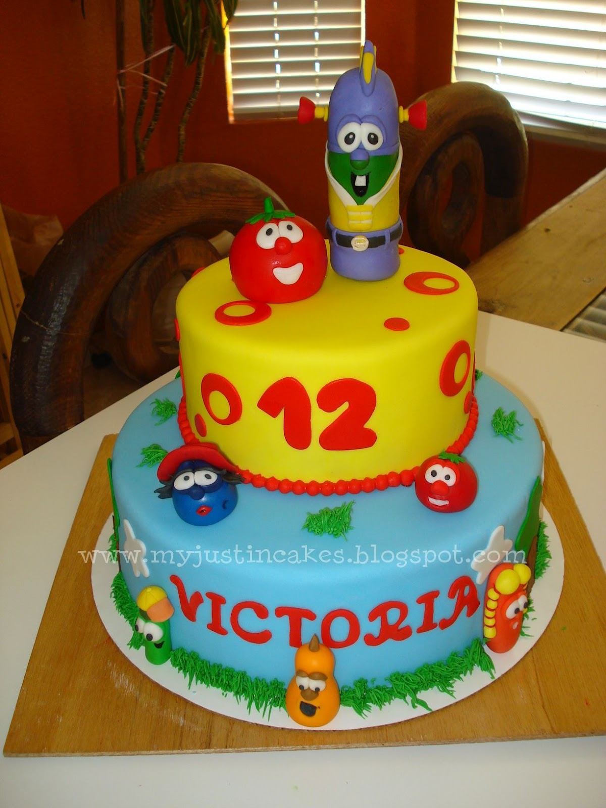 Veggie Tales Cake Just In Cakes