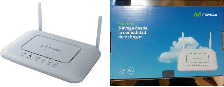 modem router movistar internet speedy doble antena blanco zte nucom homestation mayor alcance cobertura wifi delivery
