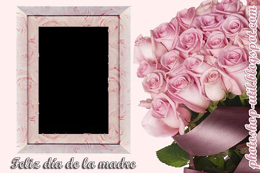 Marco de rosas para el día de la madre : Plantillas, recursos y más