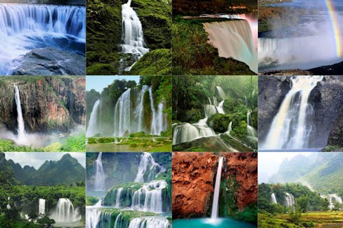 Wallpapers de cascadas muy hermosas para iPad y iPad2