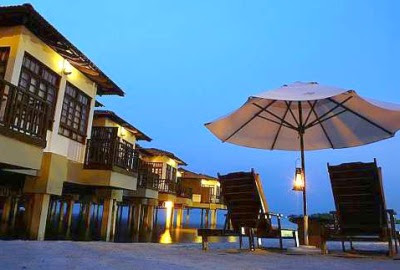 Nostalgic: At Avillion Port Dickson, guest can get a gorgeous uninterrupted view of the seas.