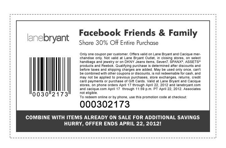 photo regarding Lane Bryant Printable Coupons titled Lane Bryant Coupon codes Printable Discount coupons DB 2016