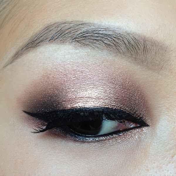 Style By Cat: Rose Gold Smokey Eyes