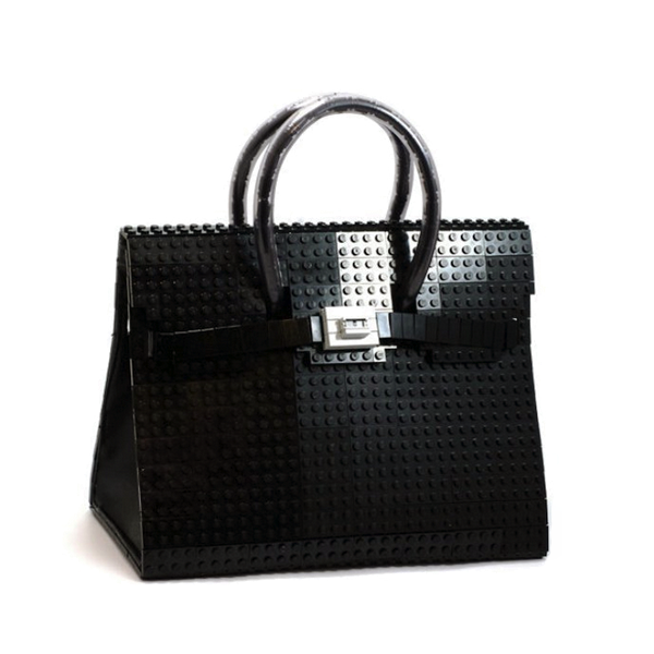 Birkin Hermes by Lego on www.designandfashionrecipes.com