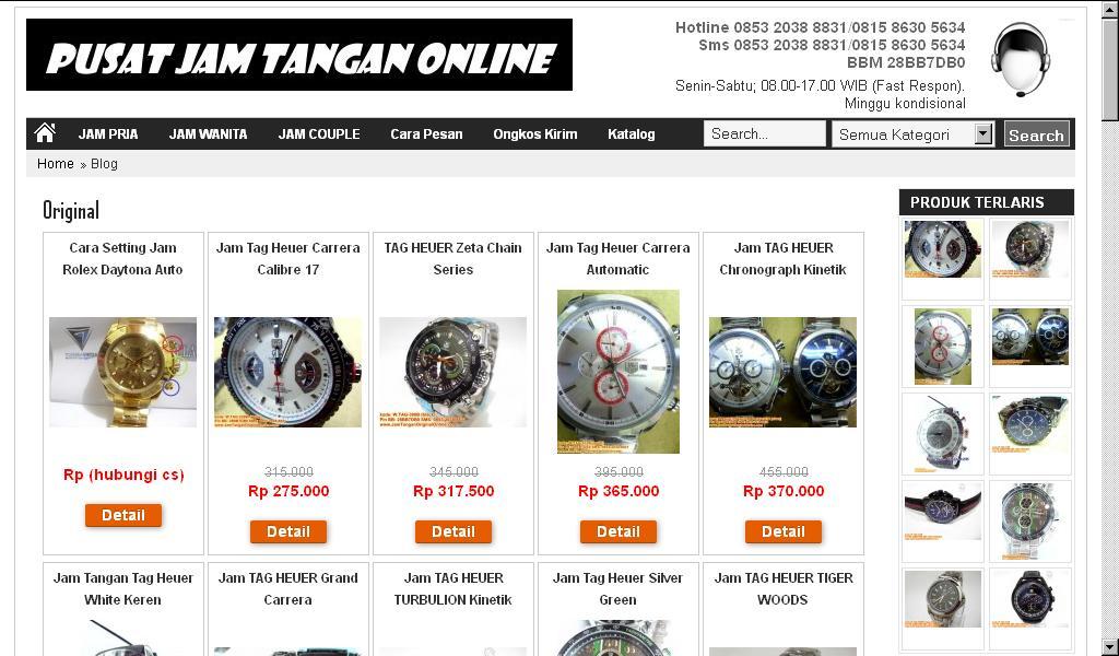 Jual Jam Tangan Branded Original Reflika Mewah Canggih