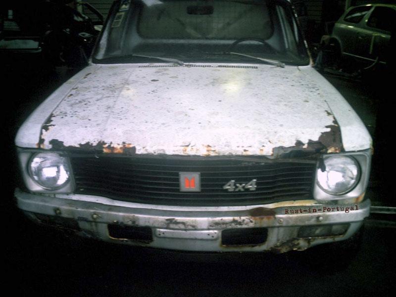 Rip Rust In Portugal Isuzu Kbd 25 4x4