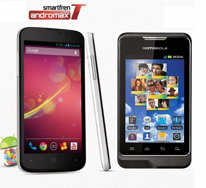 Harga Hp Smartfren dan Motorola Bersaing Taklukan Pasaran