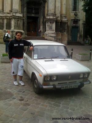 coche clasico santana ucrania