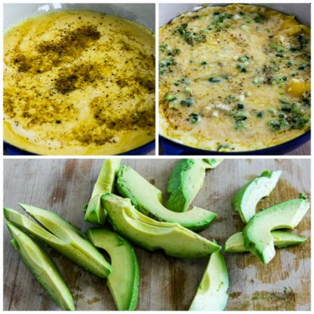 Feta Cheese And Avocado Mini-Frittata For Two Recipes — Dishmaps