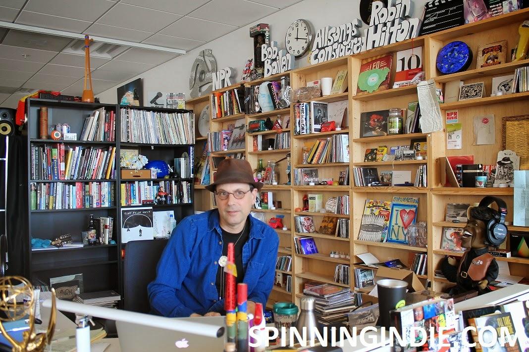 Bob Boilen my tour of npr headquarters - radio survivor