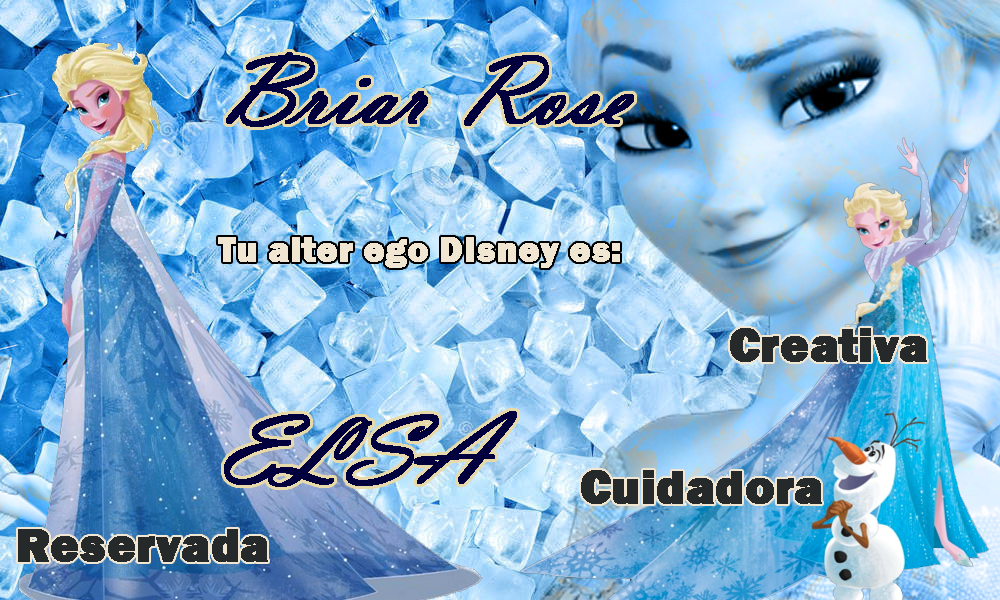 Yo soy Elsa. ¿Qué personaje Disney eres tú?