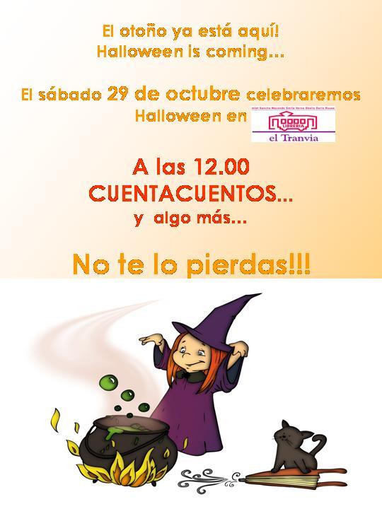 Cuentacuentos de Halloween para los más pequeños