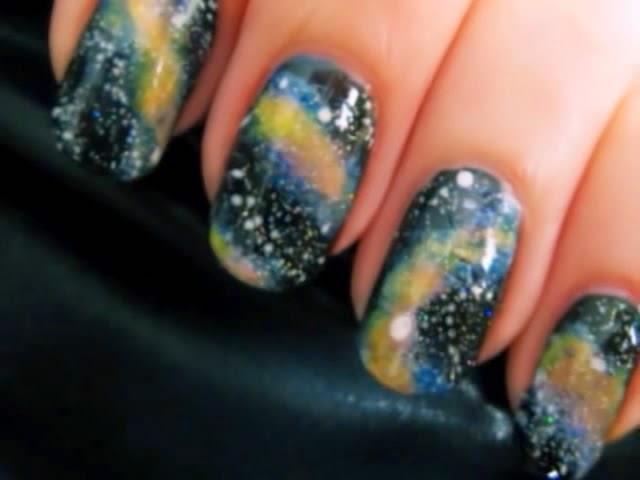 New Galaxy Nails Art