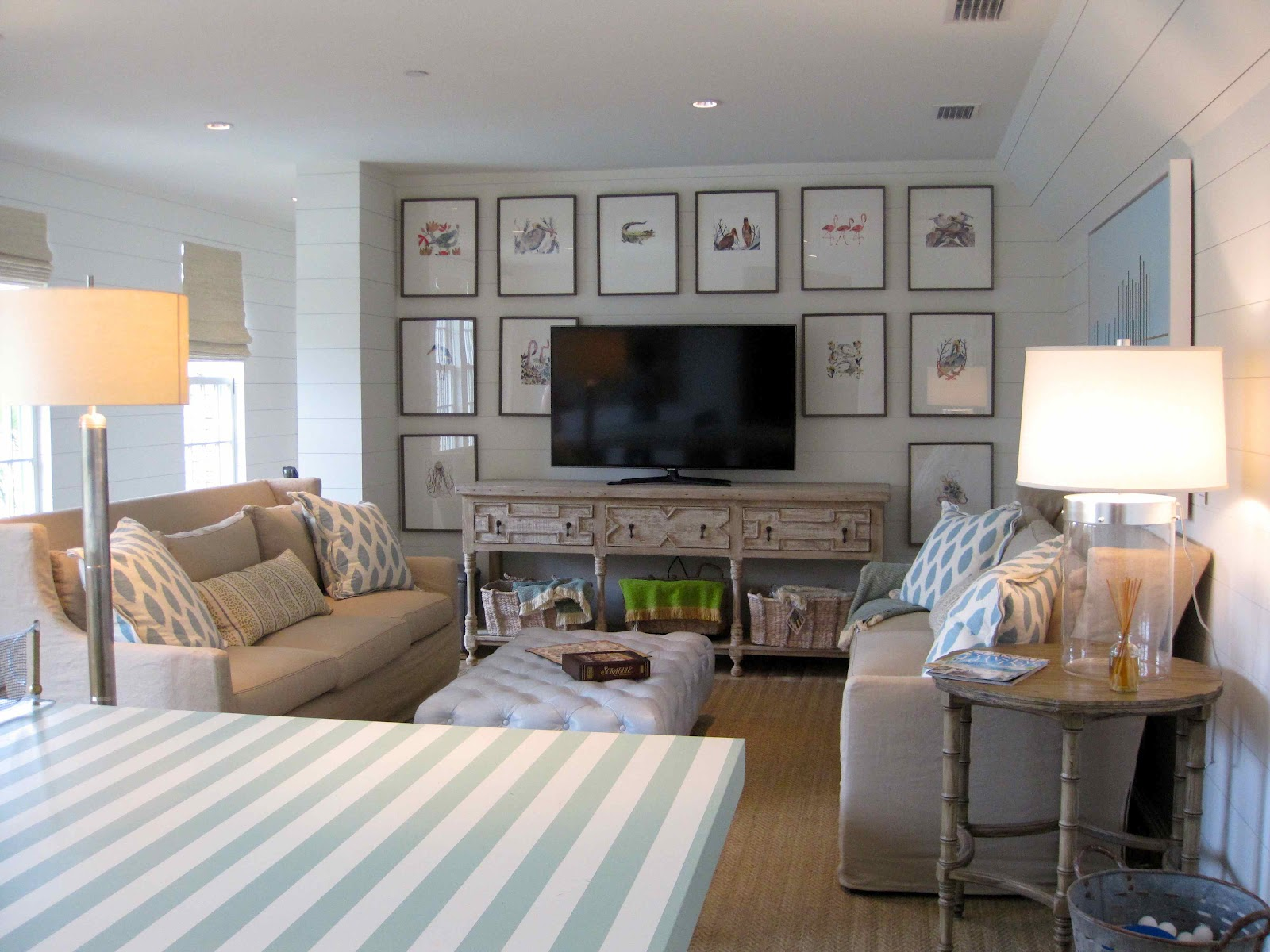 Driven By Décor: Tour of Coastal Living's Ultimate Beach House: Part  title=