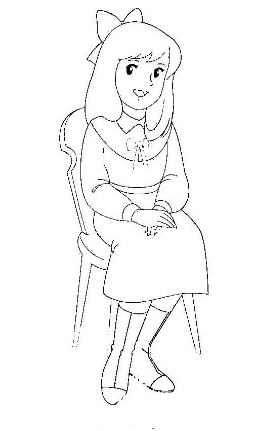 Total Drama Zoey Coloring Pages