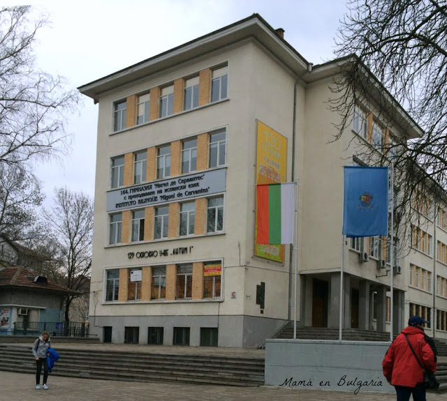 Instituto bilingüe de Bachillerato Miguel de Cervantes, Sofía, Bulgaria