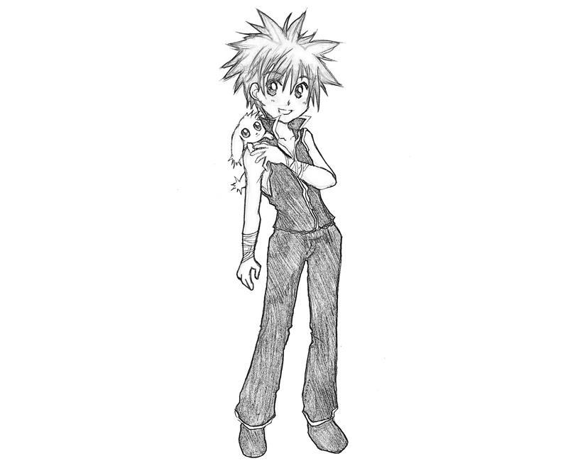 printable-daisuke-niwa-character_coloring-pages-5