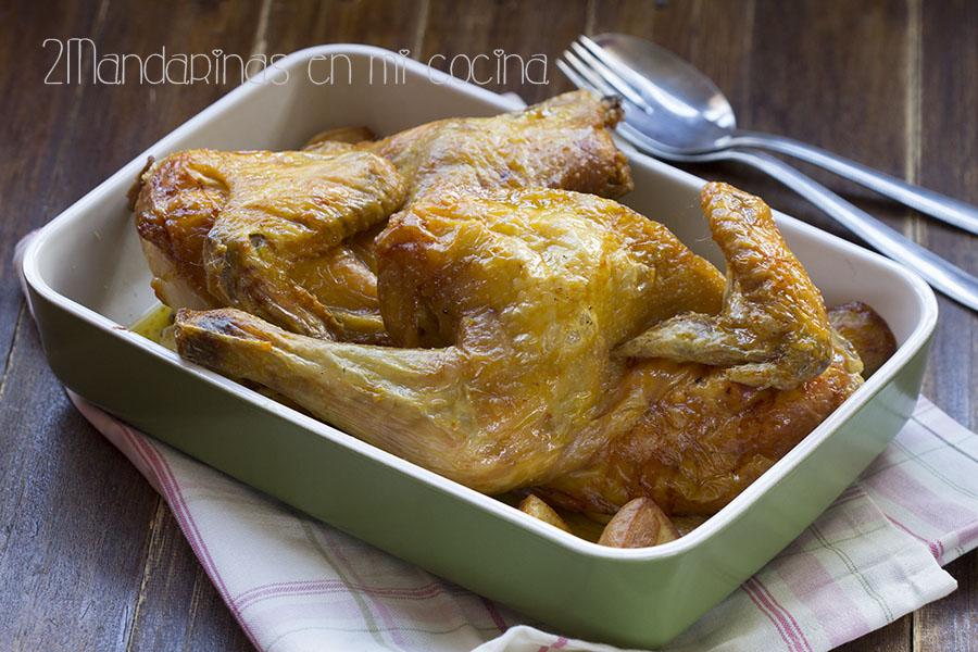 Cómo asar pollo de forma rápida y fácil. Pollo Asado fácil