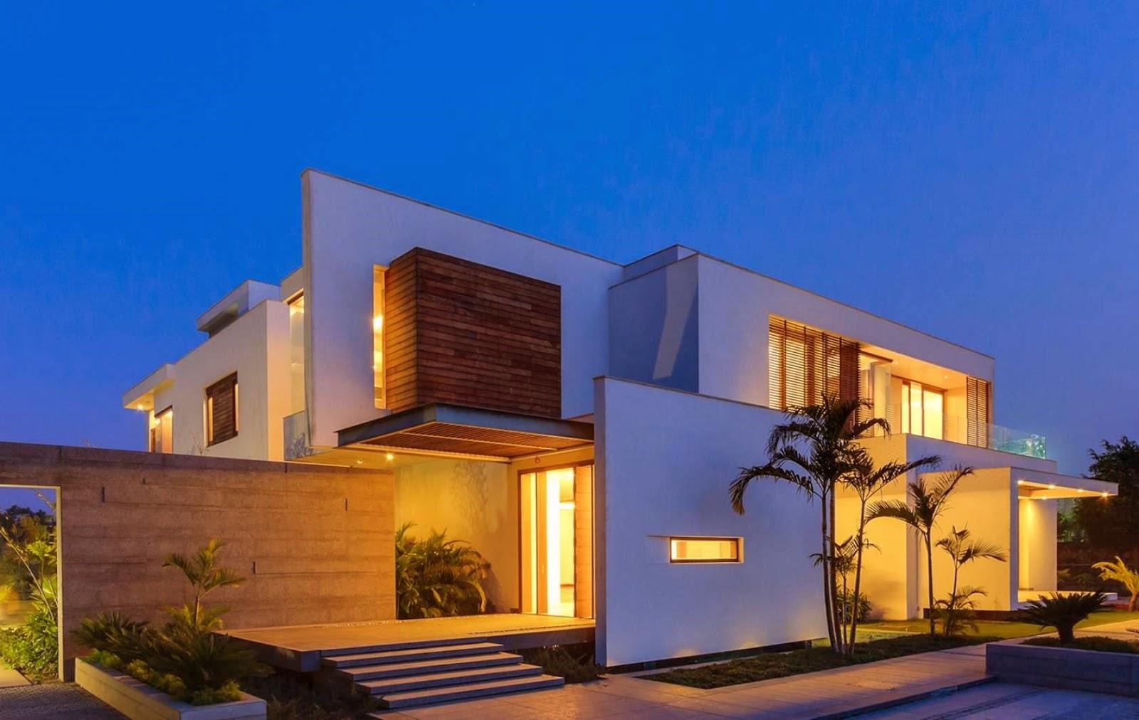 Ver fotos de casas bonitas escoja y vote por sus fotos de for Casa moderna blanca