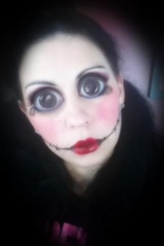 Creepy Doll Makeup You - Mugeek Vidalondon