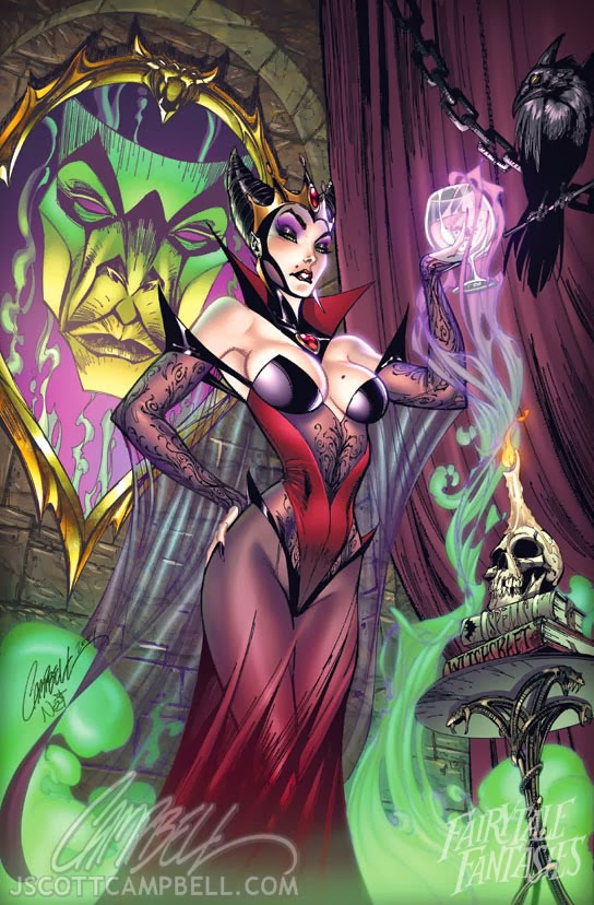 The Evil Queen Fairytale Fantasies Disney