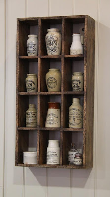 antique bottles and old pots