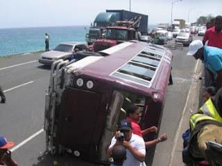 Siguen los accidentes en República Dominica