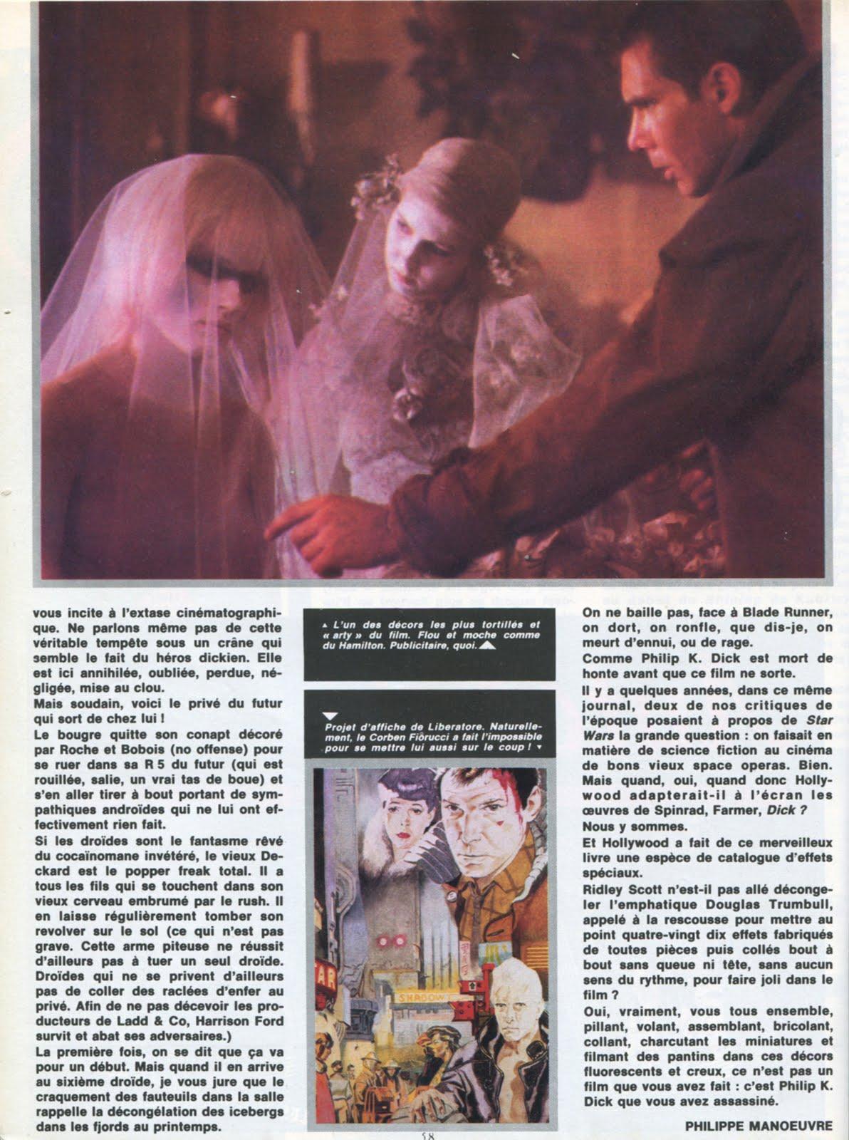 METAL HURLANT (Sept 1982) Blade Runner LA+SECONDE+MORT+PHILIP+K.+DICK+6
