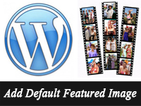adding default featured image in wordpress
