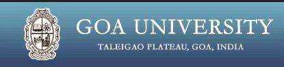 GOA University 2014 Results