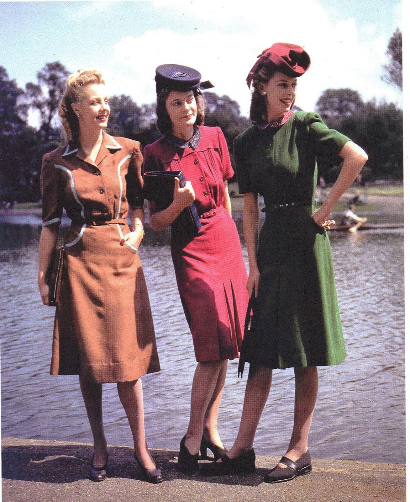 elizabeth baines review 1940s fashion the definitive