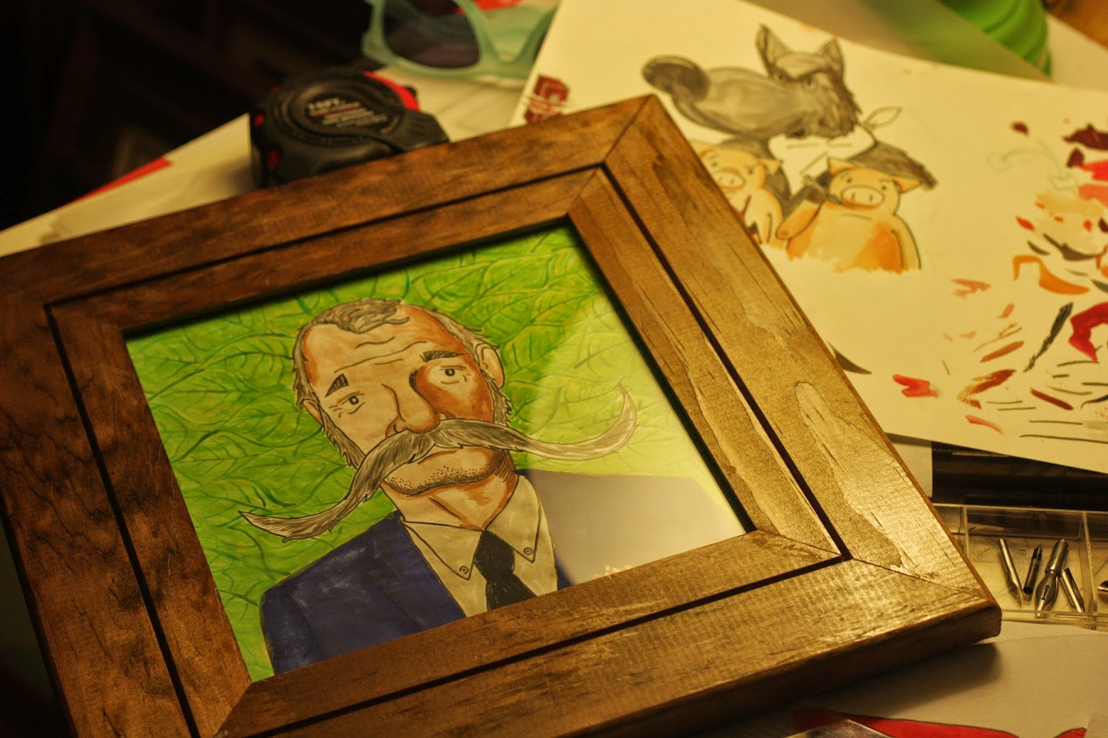 Bill Murray Illustration - Ben J Hutchison