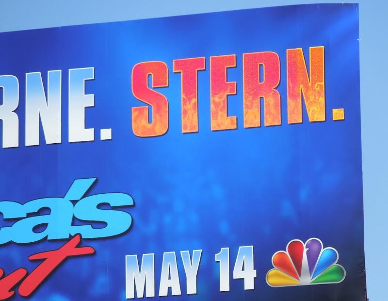 Americas Got Talent Stern billboard