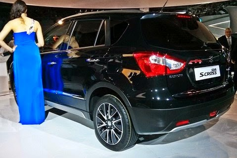 2015 Maruti Suzuki SX4 S-Cross Rear View