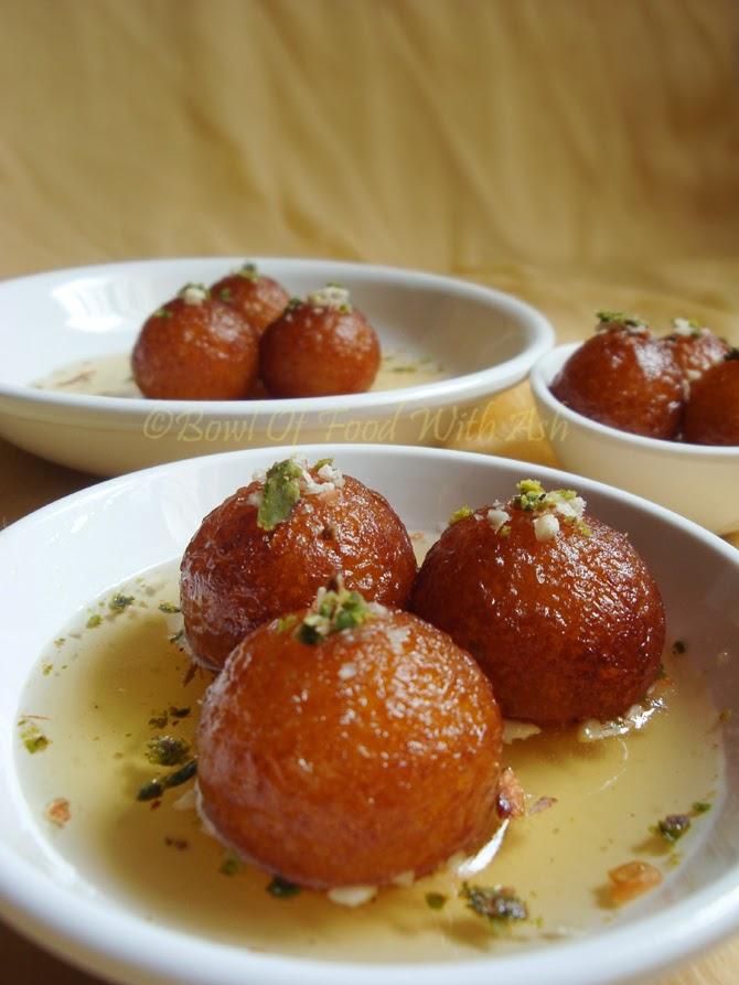 Gulab Jamun ( using Milk Powder) Recipe